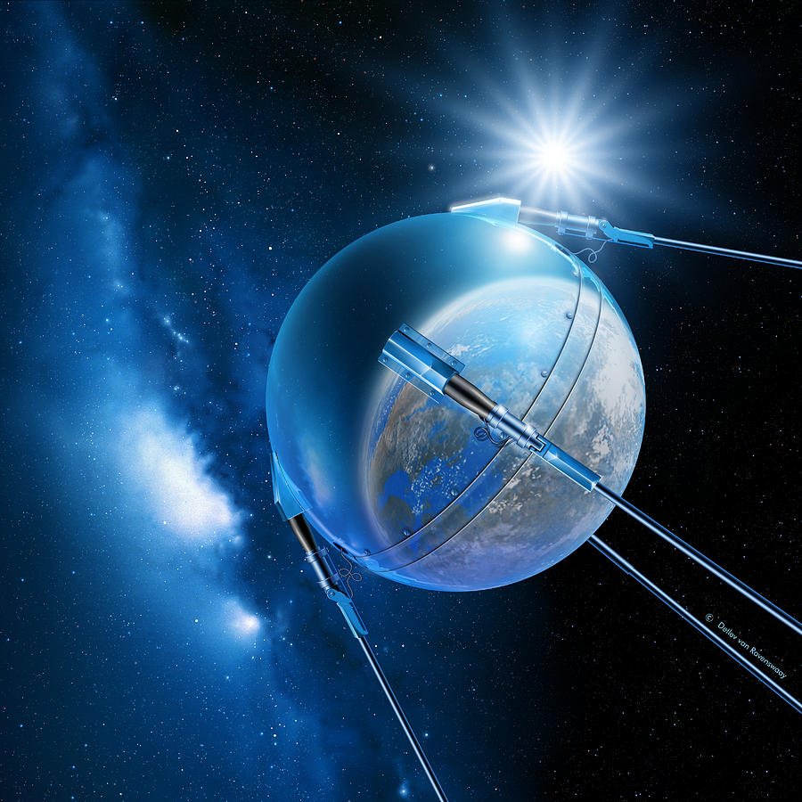 что искусственные спутники фото всех
